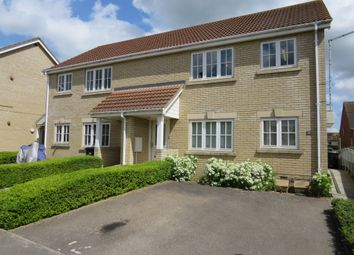 Thumbnail 1 bed flat for sale in St Andrews Close, Sutton, Ely
