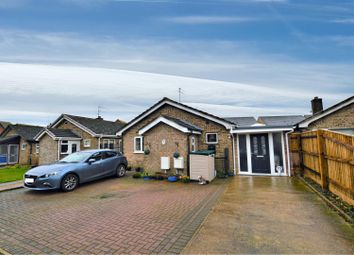 Thumbnail 4 bed detached bungalow for sale in Belvoir Close, Stamford