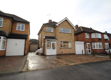 Thumbnail 3 bed detached house to rent in Eastway Road, Wigston