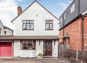 Thumbnail 3 bed detached house for sale in Osborne Road, Egham, Surrey