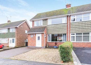 Thumbnail 3 bed semi-detached house for sale in Brascote Lane, Newbold Verdon, Leicester, Leicestershire