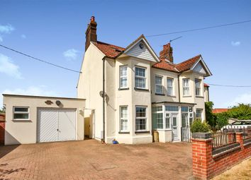 Thumbnail 4 bedroom semi-detached house for sale in Norwich Road, Fakenham