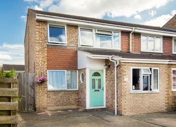 Thumbnail 3 bedroom end terrace house for sale in Milton Close, Royston