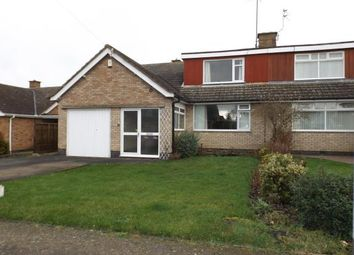 Thumbnail 4 bed bungalow for sale in Stonehill Drive, Great Glen, Leicester, Leicestershire