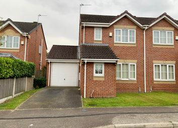 Thumbnail 3 bed semi-detached house for sale in Cedar Walk, Featherstone, Pontefract