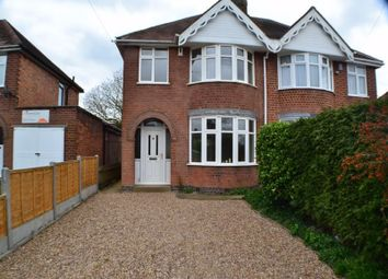 Thumbnail 3 bed semi-detached house to rent in Belle Vue Road, Earl Shilton, Leicester