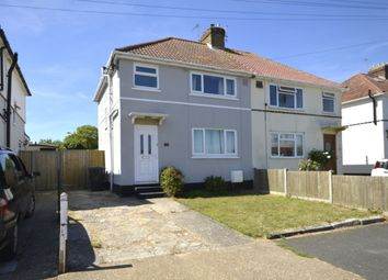 Thumbnail 3 bed semi-detached house to rent in Quern Road, Deal