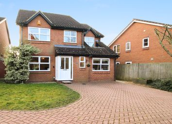 Thumbnail 5 bed detached house for sale in Trefoil Close, Keephatch, Wokingham