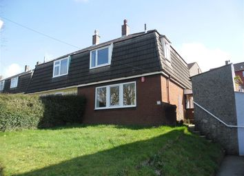 Thumbnail 3 bed property to rent in Kirkwall Road, Crownhill, Plymouth