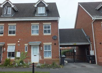Thumbnail 3 bed terraced house to rent in Carrington Road, Hamilton, Leicester