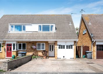 Thumbnail 3 bed semi-detached house for sale in Hazelbank Road, Chertsey, Surrey