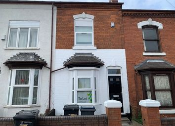 Thumbnail 4 bedroom terraced house to rent in Tiverton Road, Selly Oak, Birmingham