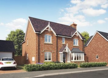 Thumbnail 4 bed detached house for sale in Off Station Road, Hadnall