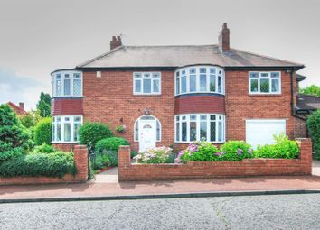 Thumbnail 4 bed semi-detached house for sale in Southwood Gardens, Kenton, Newcastle Upon Tyne