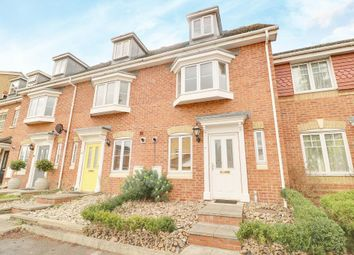 Thumbnail 3 bed town house for sale in Parkside Place, Staines