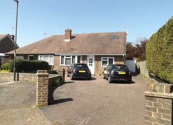 Thumbnail 4 bed semi-detached bungalow for sale in Nursery Close, Lancing, West Sussex