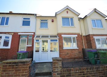 Thumbnail 3 bed terraced house for sale in Archer Road, Folkestone, Kent