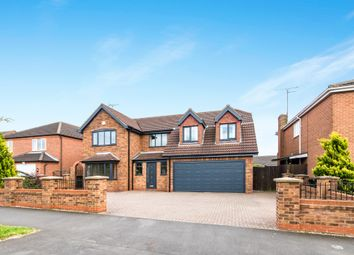 Thumbnail 5 bedroom detached house for sale in Barrowby Gate, Grantham