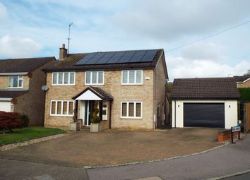 Thumbnail 4 bed detached house for sale in Priory Road, Wollaston, Northamptonshire