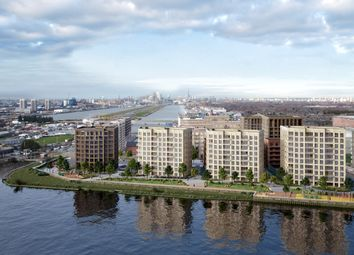Thumbnail 1 bed flat for sale in Royal Albert Wharf, The Royal Docks, London