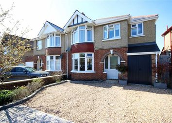 Thumbnail 4 bedroom semi-detached house for sale in Tismeads Crescent, Old Town, Swindon