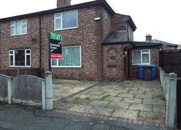 Thumbnail 3 bed property to rent in Chantler Avenue, Latchford, Warrington