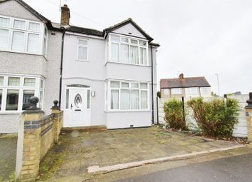 Thumbnail 3 bed semi-detached house to rent in Collier Row Lane, Collier Row, Romford