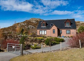 Thumbnail 4 bed detached house for sale in Cnoc Gaoithe, Shieldaig, Strathcarron