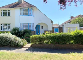 Thumbnail 3 bed semi-detached house for sale in Monks Avenue, Lancing, West Sussex