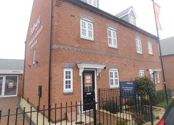 Thumbnail 4 bed town house for sale in Acresford Road, Donisthorpe