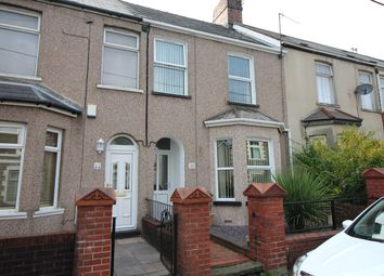 Thumbnail 3 bed terraced house for sale in Tynewydd Road, Cwmbran