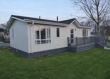 Thumbnail 2 bed mobile/park home for sale in Norfolk Park, Bacton Road, North Walsham, Norfolk