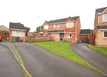Thumbnail 3 bed semi-detached house for sale in Pearce Close, St. Mellons, Cardiff.