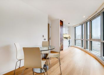 Thumbnail 1 bed flat to rent in Ontario Tower, New Providence Wharf
