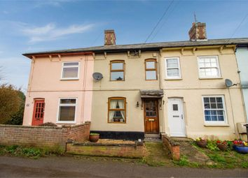Thumbnail 2 bed terraced house for sale in New Cut, Glemsford, Sudbury, Suffolk
