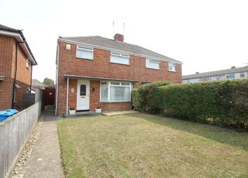 Thumbnail 3 bed semi-detached house for sale in Russell Gardens, Hamworthy, Poole