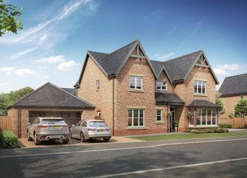 Thumbnail 4 bed detached house for sale in Medburn Park, Medburn Village, Newcastle Upton Tyne