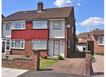 Thumbnail 3 bed semi-detached house for sale in Ferndale Crescent, Uxbridge
