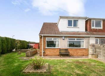 Thumbnail 3 bed semi-detached house for sale in Lawns Road, Kirkby-In-Ashfield, Nottingham