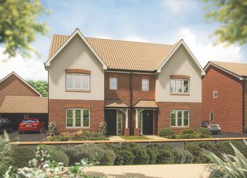 """Thumbnail 3 bed semi-detached house for sale in """"The Cypress"""" at Haughton Road, Shifnal"""