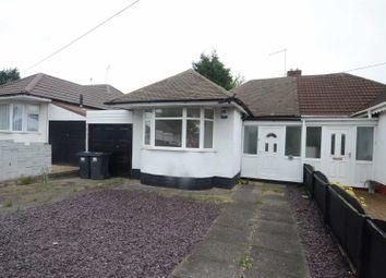 Thumbnail 2 bedroom semi-detached bungalow for sale in Heathland Avenue, Castle Bromwich, Birmingham