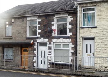 Thumbnail 3 bed terraced house to rent in Miskin Road, Trealaw, Tonypandy