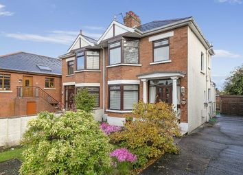 Thumbnail 3 bedroom semi-detached house for sale in Circular Road, Belmont, Belfast