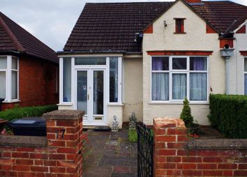 Thumbnail 2 bed semi-detached bungalow for sale in Greville Avenue, Northampton