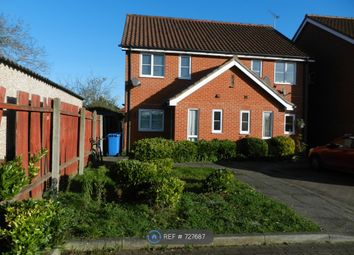 Thumbnail 3 bed semi-detached house to rent in Brett Close, Ipswich
