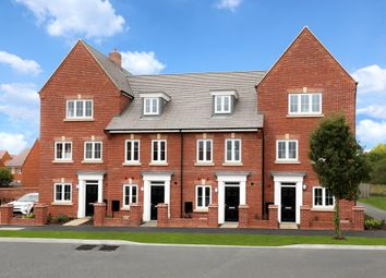 "Thumbnail 4 bedroom terraced house for sale in ""Helmsley"" at Gold Furlong, Marston Moretaine, Bedford"