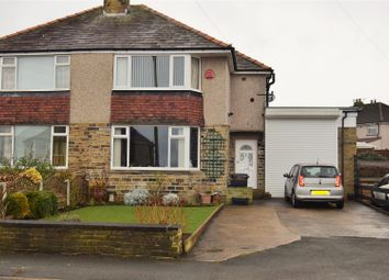 Thumbnail 3 bed semi-detached house for sale in Oaklands Avenue, Northowram, Halifax