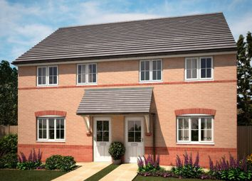"Thumbnail 3 bed semi-detached house for sale in ""Finchley"" at Bearscroft Lane, London Road, Godmanchester, Huntingdon"