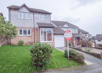 Thumbnail 4 bedroom detached house for sale in Warren Park, Woolwell, Plymouth