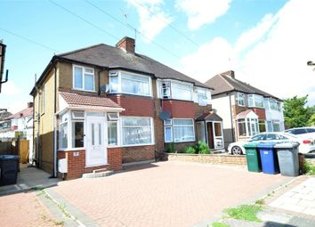 Thumbnail 4 bed semi-detached house to rent in The Greenway, London